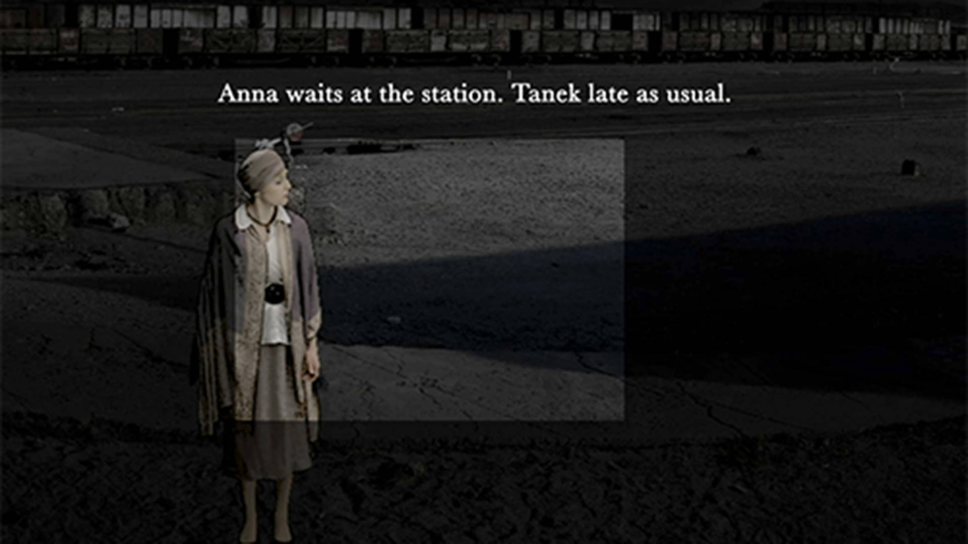 Anna Waits At The Station